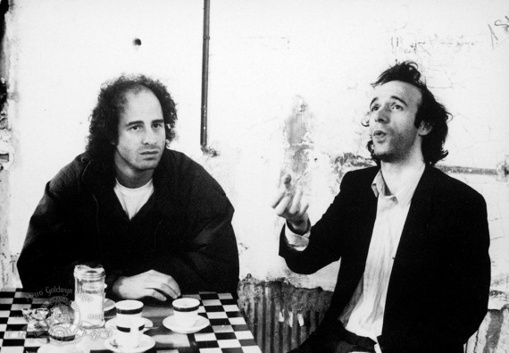 Strange to Meet You: Steven Wright and Roberto Benigni
